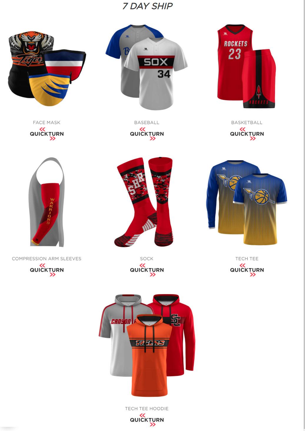 Elite Sports Custom Uniforms